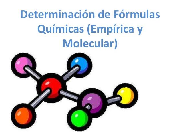 formulas empiricas