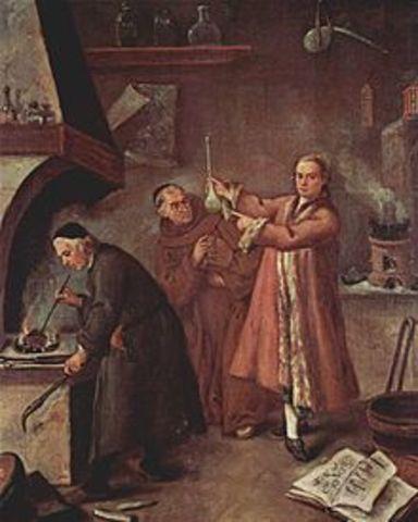 Fin de la alquimia (siglo XVII)
