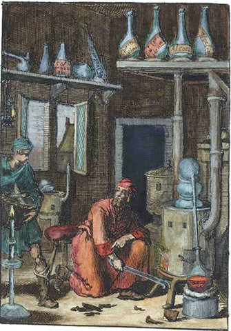 Alquimia en Europa.