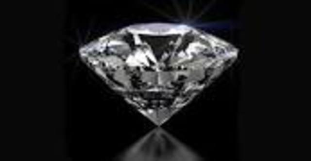 diamantes reales.