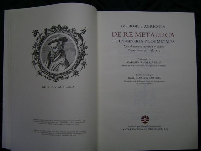Agrícola  De Re Metallica