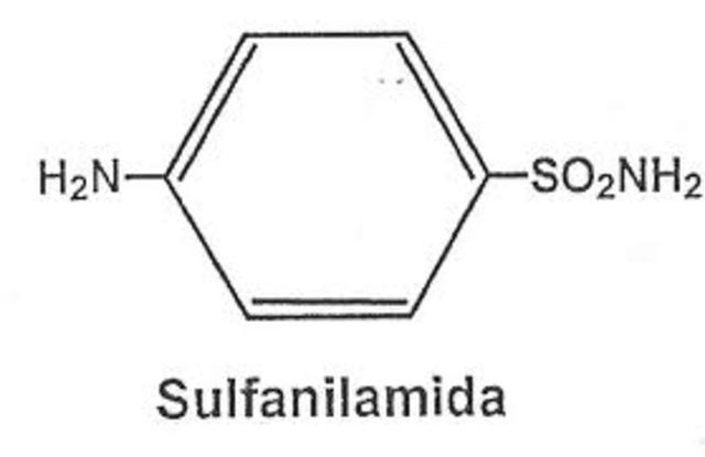 Sulfanilamida; Posible cura