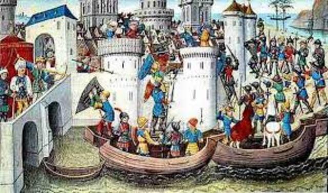 Brutal saqueo del imperio bizantino