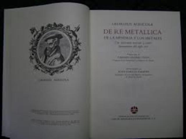 El libro de Agrícola De Re Metallica