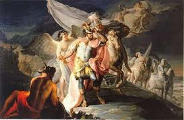 Envía su cuadro de Aníbal, vencedor al concurso de la Real Academia de Bellas Artes de Parma (Italia)