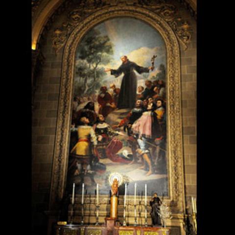 Recibe el encargo de un cuadro para San Francisco el Grande (Madrid)