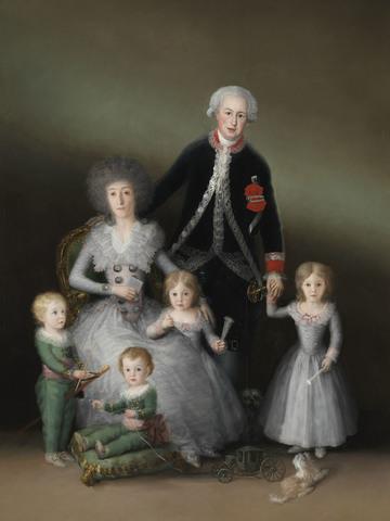 Cobra por sendos retratos de los marqueses de Peñafiel
