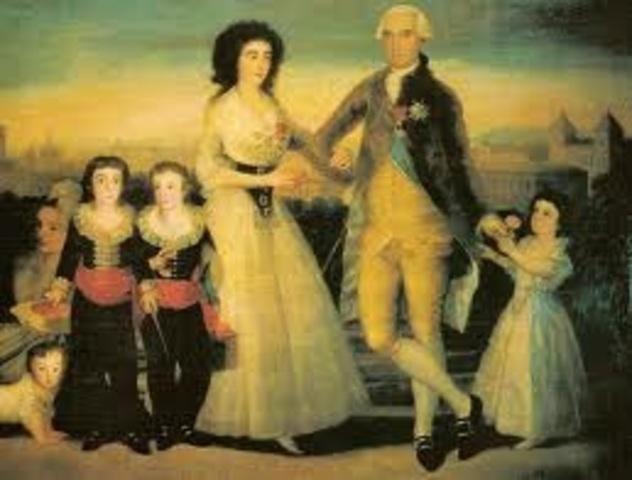 1803 Retrata a los condes de Fernán Núnez