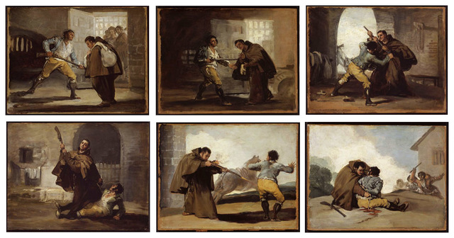 "Pinta la serie del bandido ""Maragato"""