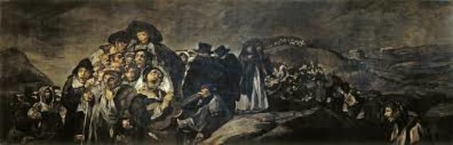 1820 - 1823 Pinturas negras