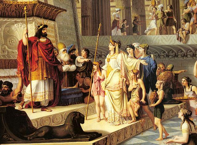 Solomon takes over