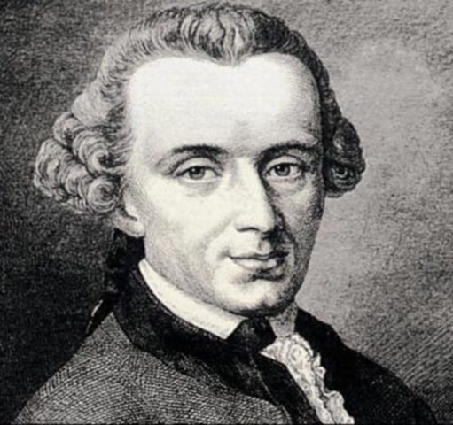 Иммануил Кант  (1724–1804)