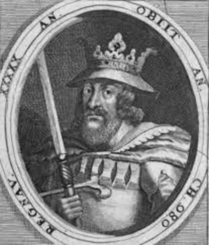 Harald blåtand blev konge. (ca.)