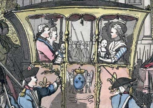 The King and Queen Flee to Varennes