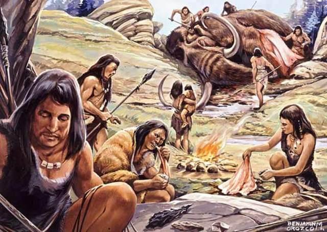 Etapa Cenolítico Inferior (9500 a. C. al 7000 a. C)