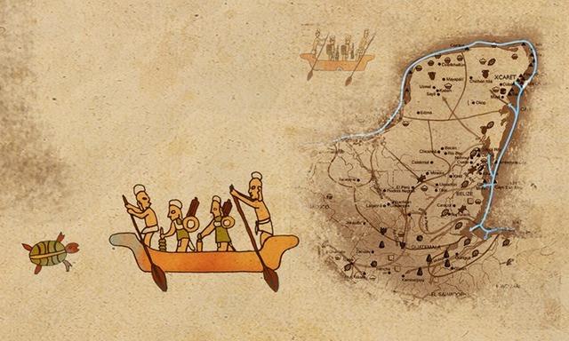 Los Olmecas Xicalancas primeros habitantes (650 -1000)