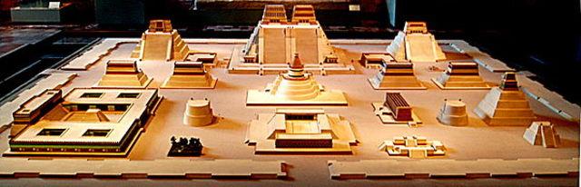 Las cuatro civilizaciones en Cholula ( siglo 1)