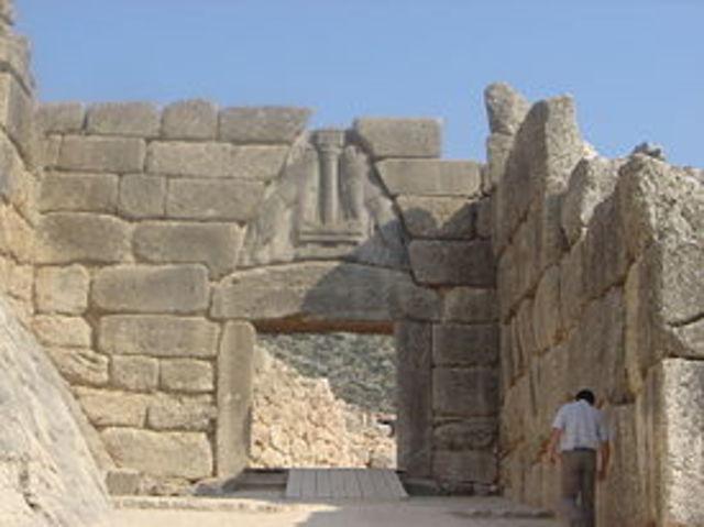 Murallas de la cultura Micéna