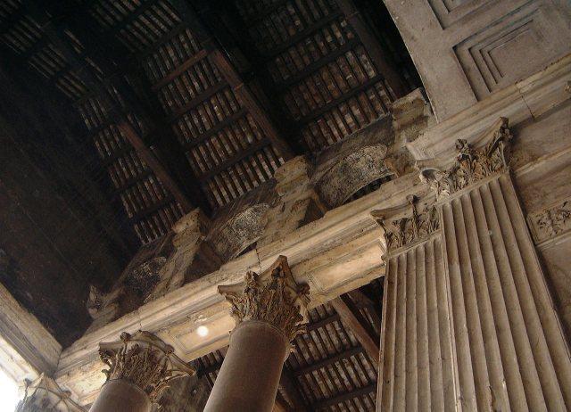 Adriano Reconstruye el templo de Agripa