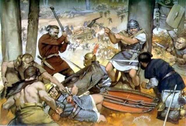 Caída del Imperio Romano en Poder de los Barbaros
