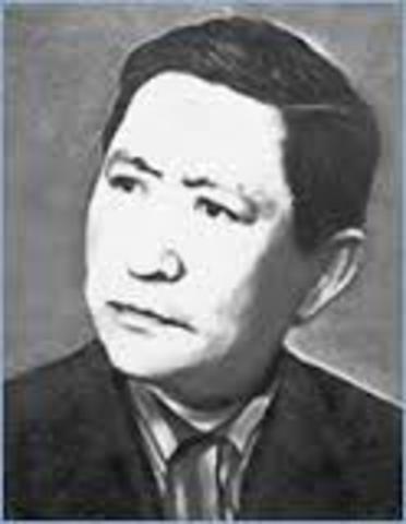 Писатель Берхайыр Аманшин