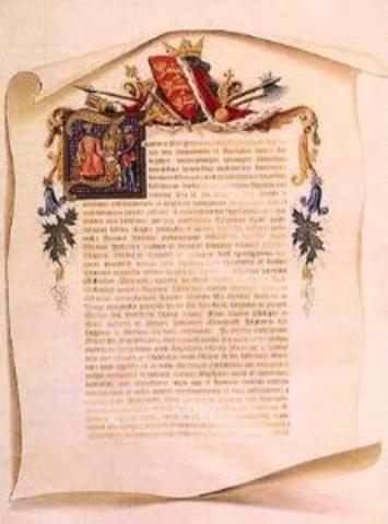 Magna Carta Signed