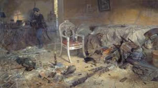 Czar Nicholas and family executed
