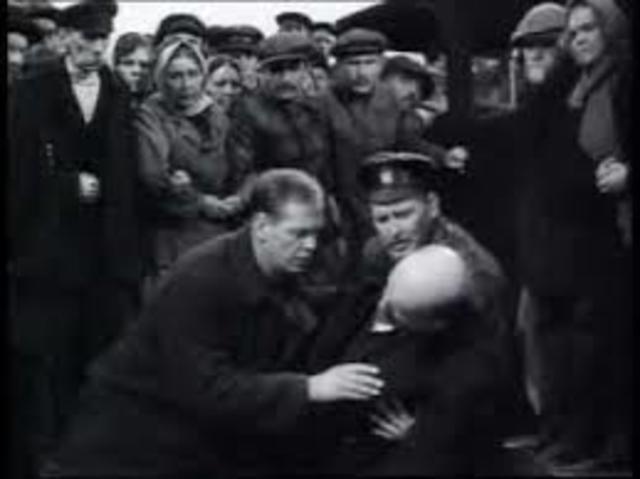 Lenin's attempted assassination