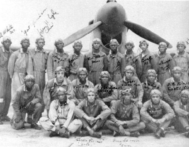 The Tuskegee Airmen begins