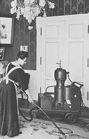 Invención de la primera aspiradora
