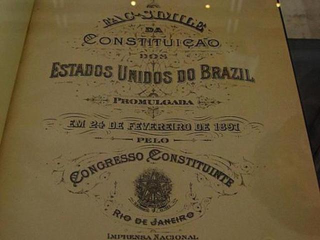 Aprovação da nova Constituição