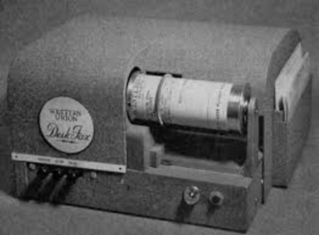 El fax se popularizó