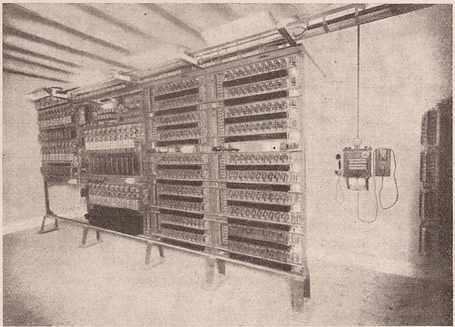 Primera central automática