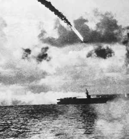 The Battle of the Philippine Sea takes place