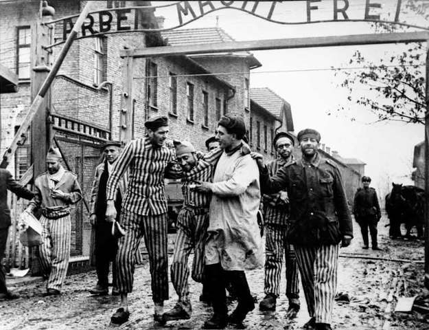 Soviet Army Enters Auschwitz Concentration Camp