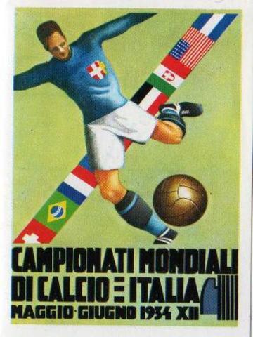 No hay Mundial... Hasta 1934