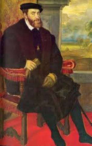 Carlos I es nombrado rey de la monarquía hispánica