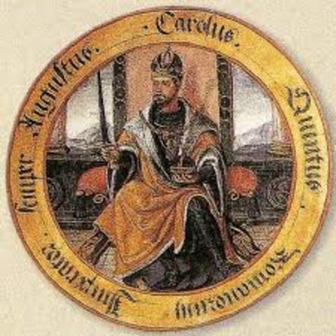 Carlos I es nombrado emperador