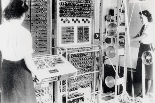 Colossus, uno de los primeros computadores digitales