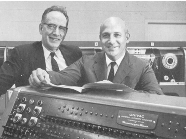 UNIVAC, la primera computadora comercial fabricada en Estados Unidos