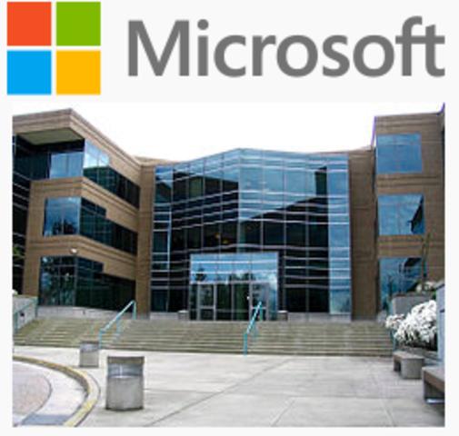 La creación de la empresa multinacional Microsoft