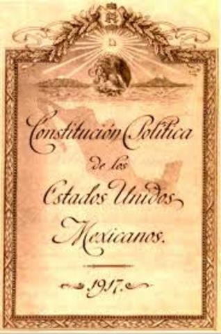 La Constitución Política de los Estados Unidos Mexicanos
