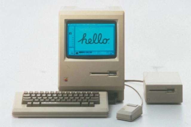 El Macintosh 128K