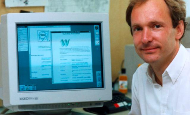 Tim Berners-Lee inventó la World Wide Web (WWW)