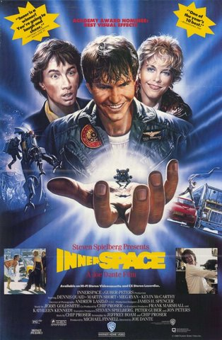 Robocop and Innerspace