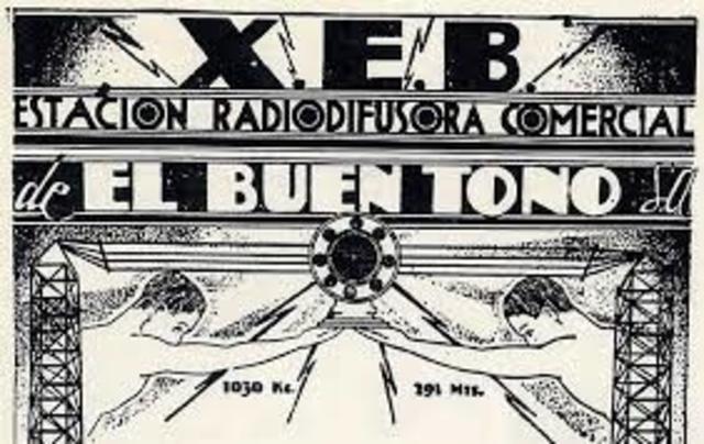 Primera Radiodifusora en la Ciudad de México