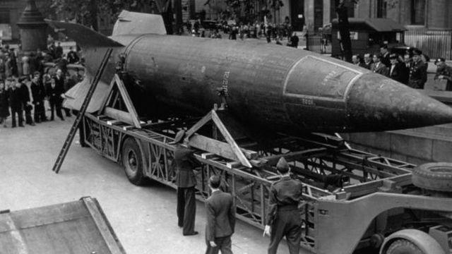 Los primeros cohetes lanzados