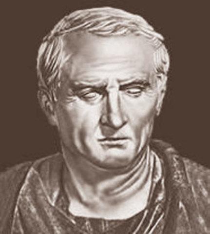 Марк Туллий Цицерон (106-43 до н. Э.)