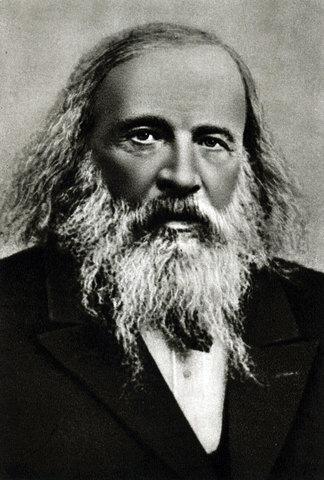 Д. И. Менделеев (1834–1907)