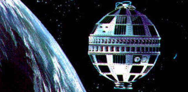 El primer satélite activo